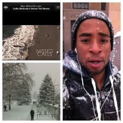 I feel like I'm the only person who loves the snow. #boulder #music #snow #nature #love