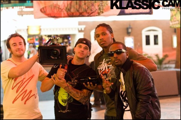 Behind the scenes shooting Jensen Kirk music video Las Vegas - Via 2009