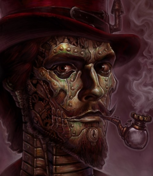 steampunktendencies:  The Brass Baron by ~AjnAvisions
