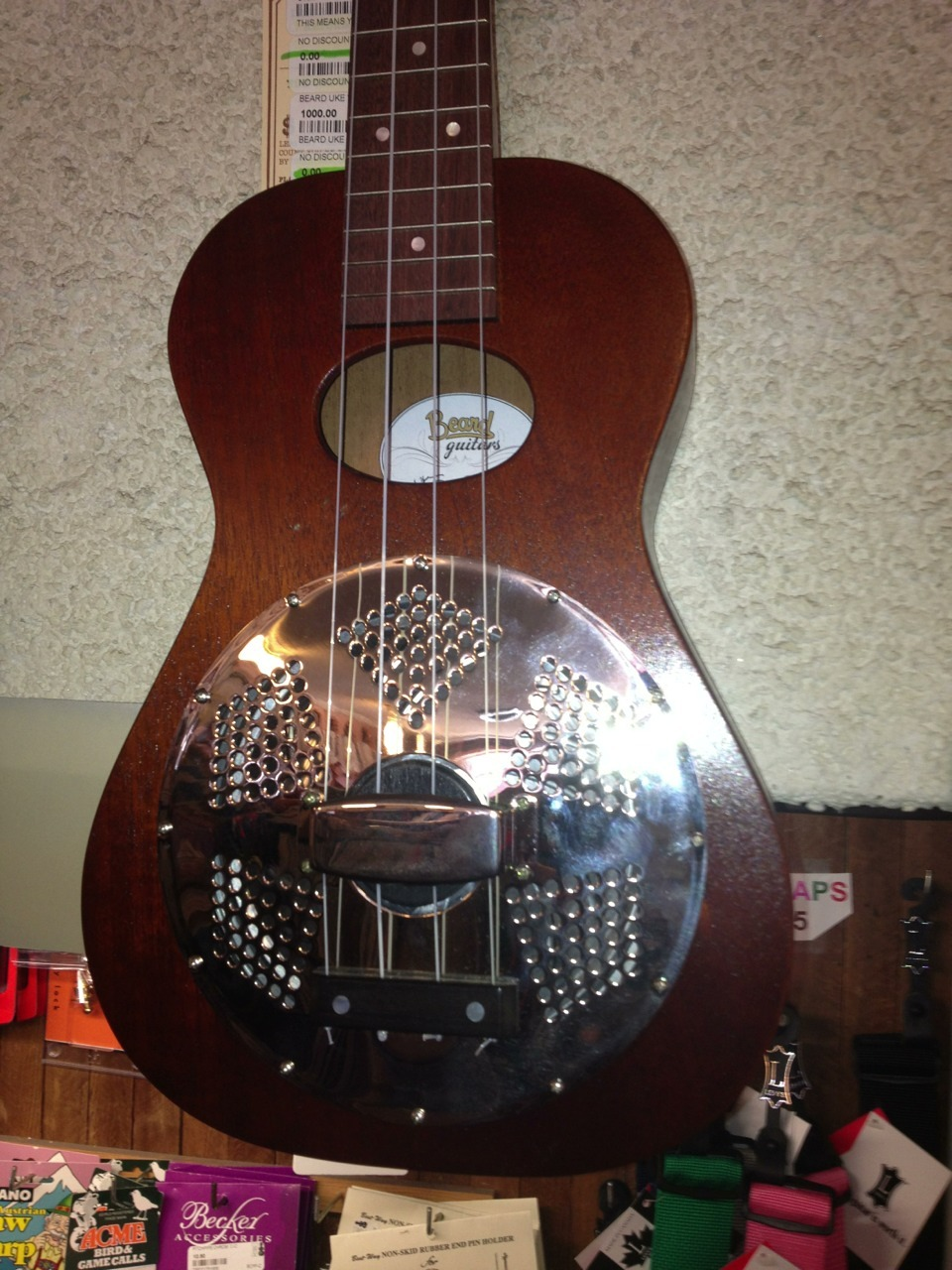 Beard Uke New w/Case Price: $1000.00