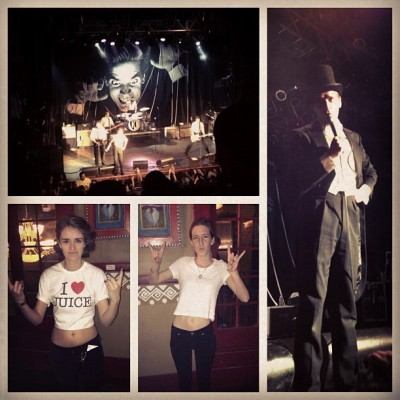 We went hard #thehives (at House of Blues Anaheim)