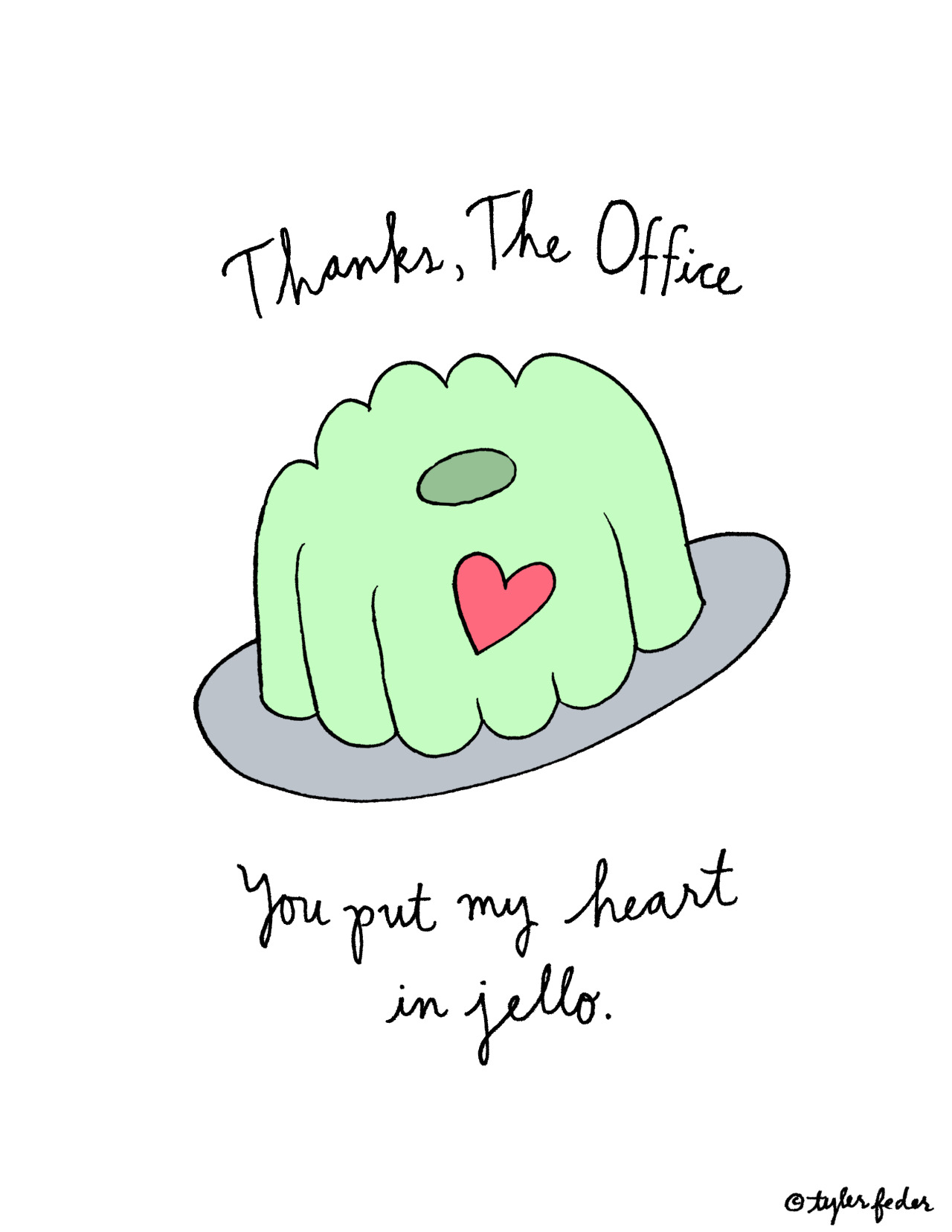 roaring-softly:  Goodbye, The Office. (by Tyler Feder)
