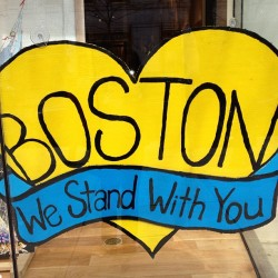 💙💛Boston, we stand with you  #bostonstrong #boston #westandwithyou 💛💙