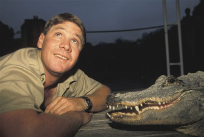 sunsetbl-vd:  dillypatchkid:  February 22, 2013 — Happy Birthday, Steve Irwin. You taught me things about animals ever since I was little, you were the best part of my childhood and I will never stop watching The Crocodile Hunter. Rest in Peace.  RIP Steve :(