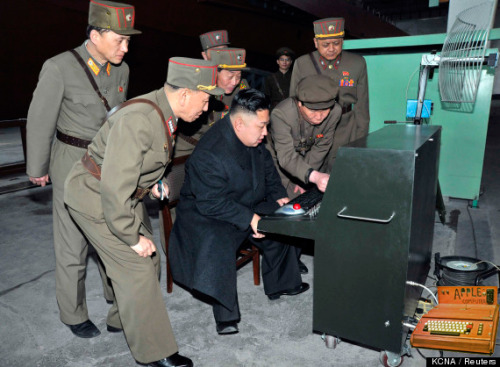 Did not know Kim Jung-un was an Apple enthusiast…