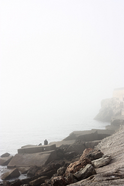 Fog on Flickr.Fog, sea and rocks