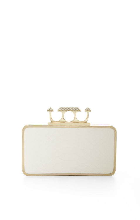 wantering:  BCBGMaxazria Zoe Pyramid Knuckle Box Clutch