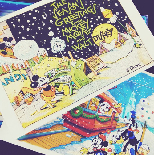 mickeyandminnie:  Happy holidays!