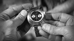 "questanteros:  James Bond's  wristwatch from Thunderball bought at carboot sale for £25.   The prop, one of the many gadgets used by 007 during his 50 years on screen, was key to the plot of the film as it helped the secret agent locate stolen atomic weapons during underwater scenes in the 1965 film.  The Breitling watch was picked up for £25, but is now to be sold by Christie's in London with an estimated price of up to £60,000.  The Top Time model by the luxury Swiss watch firm was the first watch Bond moviegoers had seen being adapted by Q's team of boffins in the 007 film series.  It is one of a number of items that are given to Bond by Q, who was played by Desmond Llewelyn, when he heads over to Nassau.  One of the hands of the watch shows the strength of radioactivity.  Sir Sean Connery, who played the agent, uses it during the film's famous aquatic scenes on a mission to find two Nato bombs that were stolen by the evil organisation Spectre.   Sean Connery appeared in seven Bond films between 1962 and 1983 The basic watch was originally made by Breitling in 1962, then adapted by the James Bond art department, and was the only one produced for Thunderball.  It is thought it had been passed on by someone who worked at Pinewood Studios, where much of the movie was made.  The auction house, which will offer the watch at its South Kensington saleroom in a Pop Culture sale on June 26, had little information about the car boot sale.  Christie's said of the forthcoming auction: ""This is a great opportunity for collectors to acquire a unique piece of James Bond memorabilia."""