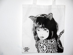 Christmas gift.  Ayumi Hamasaki - Duty (one-of-a-kind totebag)