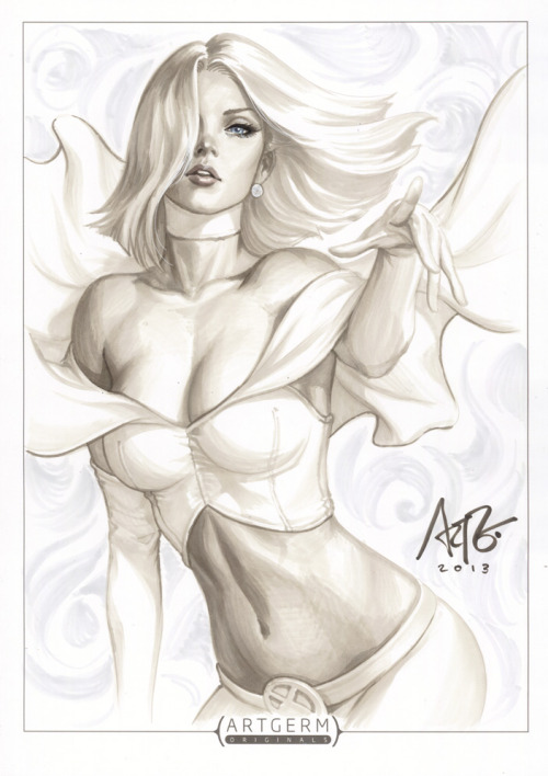 Emma Frost Original 2 by `Artgerm