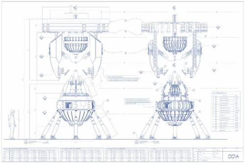 Here's #Fringe… A blueprint of the Machine image seen in the Fox Now Sync App (via @jonxproductions)