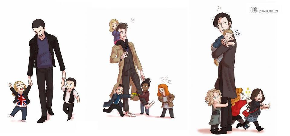 purplestripedhoodies:  The Doctor's Children of Time