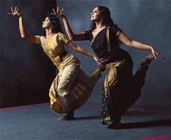 fysouthies:  Shobhana and her student for Vogue India
