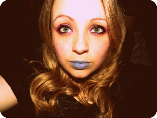 my make up for new years ;)