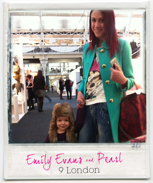 ONE COOL MOTHER / Emily Evans, check her out over on our Hip Mommas»> http://theminipost.tumblr.com/HipMPs
