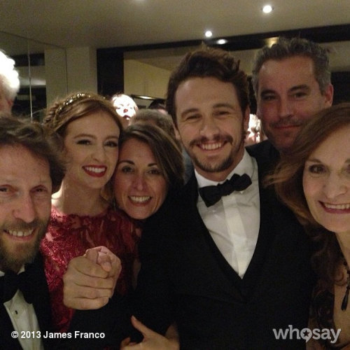 Before the Cannes premiereView more James Franco on WhoSay