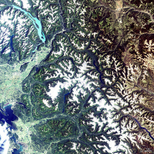 eocene:  North Cascades National Park by NASA Goddard Photo and Video on Flickr.