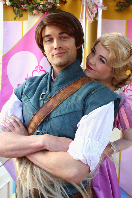 ourdisneydays:  Flynn and Rapunzel on Flickr.