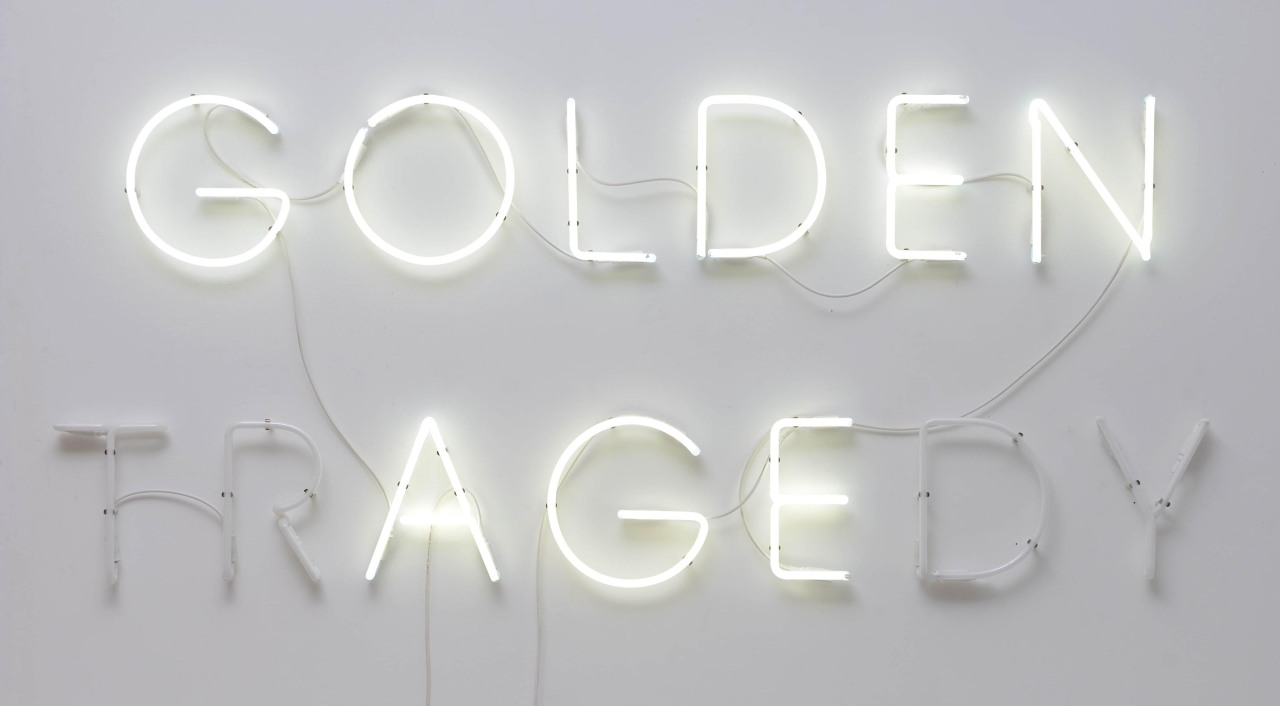 dailyartspace:  Golden Age, 2012 (neon) by Tommaso Pedone #ARTIST SHOWCASE