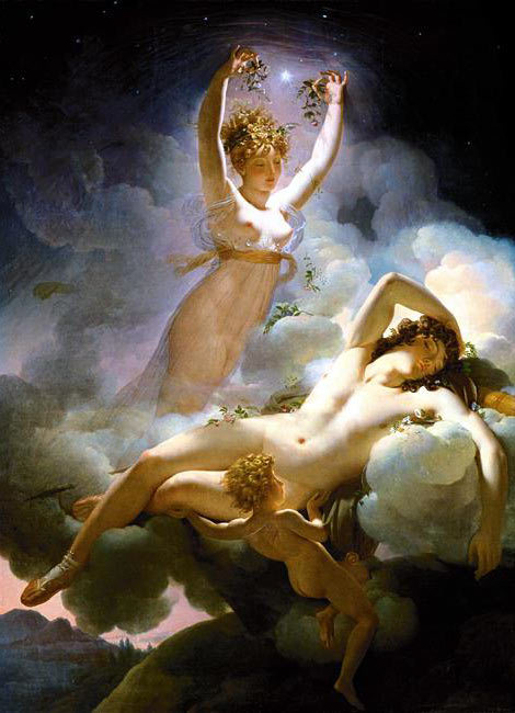 """Aurora and Cephalus"" by Pierre-Narcisse Guérin, 1811 One of my favorite paintings ever."
