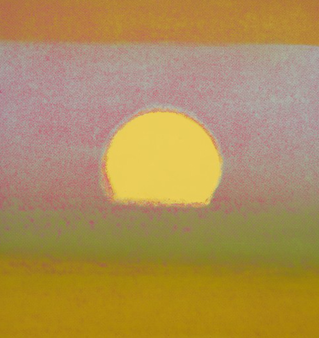 Sunset Beautiful: Andy Warhol's wistful Sunset.