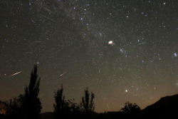 n-a-s-a:  Some of the fastest meteoroids can travel through the solar system at a speed of around 42 kilometers per second (26 miles per second). Credit: Erich Meyer