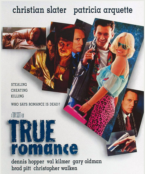 Tony Scott directs a story written by Quentin Tarantino. True Romance (1993) is classic Tarantino; there's no way you can't love this one.