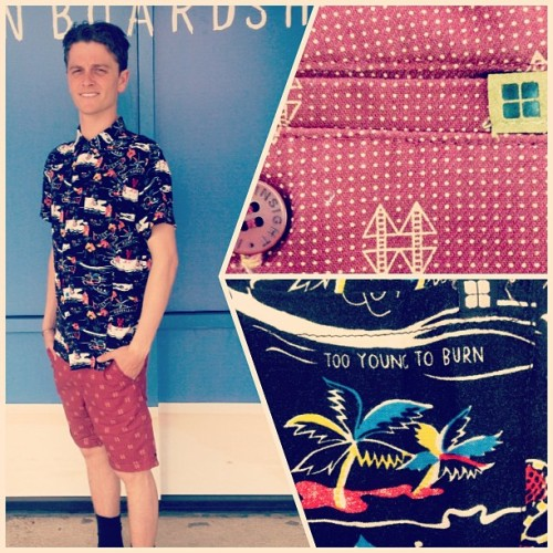 New Insight men's in at the VB shop! #insight #summer13 #mixedprints #whalebonesurfshop #tropicalprint @insight51 @bjorney  (at Whalebone Surf Shop)