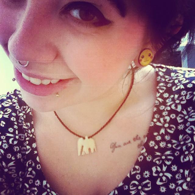 Got my pikachu plugs through today :) #pikachu #pokemon #cute #ILovePokemon #plugs #piercings #septum