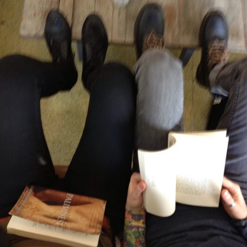 The life #read  (at Analog Coffee)