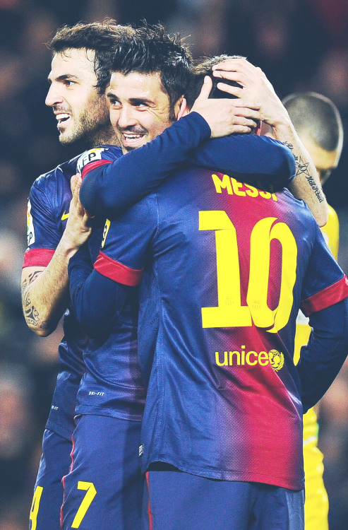 alinnyderis:  Cesc, Villa an Messi - HQ