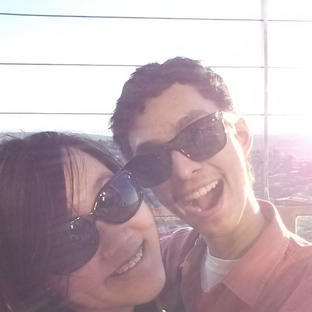 Space Needle With My One And Only Love…@aluong92 I Love You Babe!!! ♥♥♥ (at Space Needle: Observation Deck)