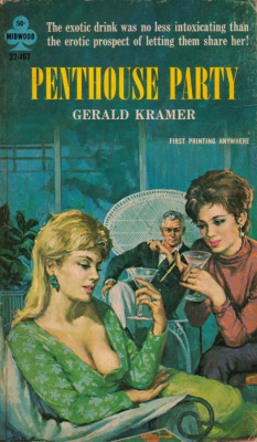 Penthouse Party, By Gerald Kramer (Midwood Publications, 1965). From A Charity Shop