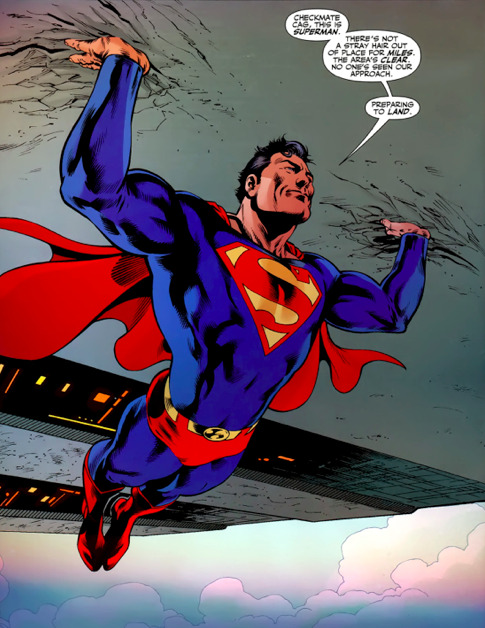 It's Superman's 75th birthday. Here's the first time i got to write him. Art by the great Julián López.