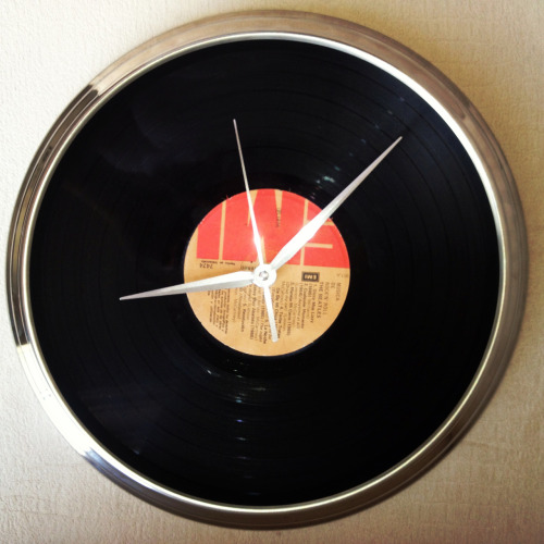 #vynil#clock#vynilclock#design#interiors#modern#design#decoration#thebeatles