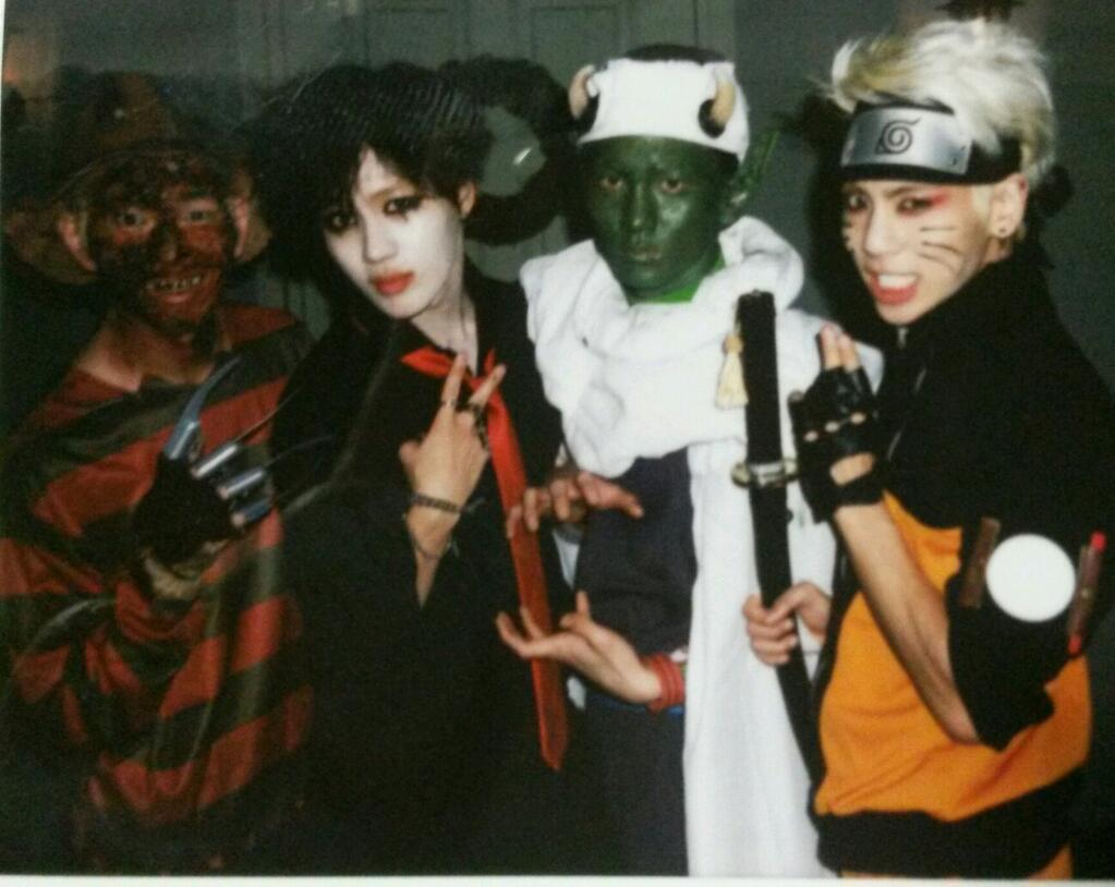 Twitter Halloween Key Onew Jonghyun Taemin Forevershiningshinee