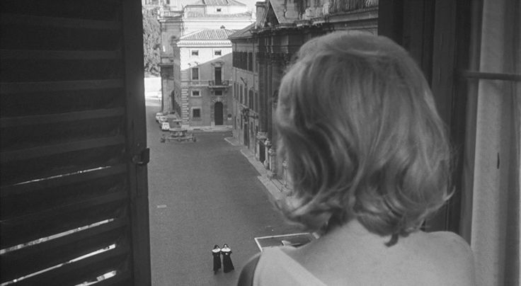 Monica Vitti in L'eclisse di Michelangelo Antonioni (1962)