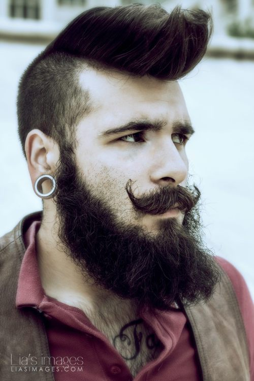 beardsftw:  lekurde:  Photo by Lia's Images http://www.facebook.com/Lia.s.Images?directed_target_id=0 Model by Le Kurde http://www.facebook.com/LeKurdeModel  [[ Follow BeardsFTW! ]]