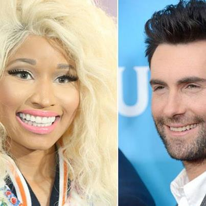 ADAM LEVINE AND NICKI MINAJ TO DEVELOP EXCLUSIVE APPAREL AND ACCESSORIES COLLECTIONS WITH KMART see more at http://mypinkfriday.com/news/120933