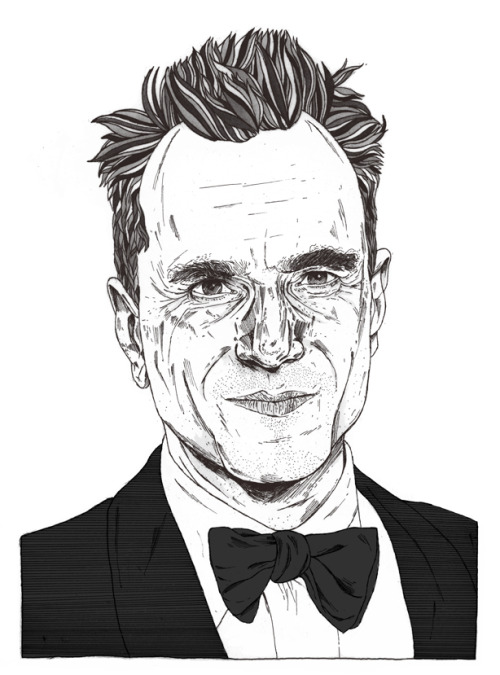 "Daniel Day Lewis The first person to receive 3 ""Best Actor"" Oscars. Prints here."