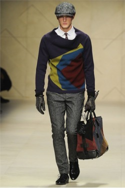 mensfashionworld:   Burberry Prorsum Fall Winter 2012