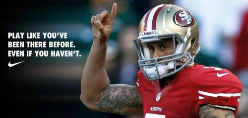 the greatest quarterback of all time, colin kaepernick.