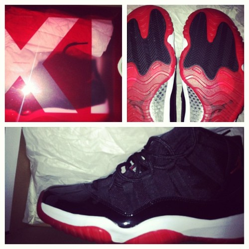 #deadstock Bred 11's for sale,size 12 and entertaining trades deadstock only