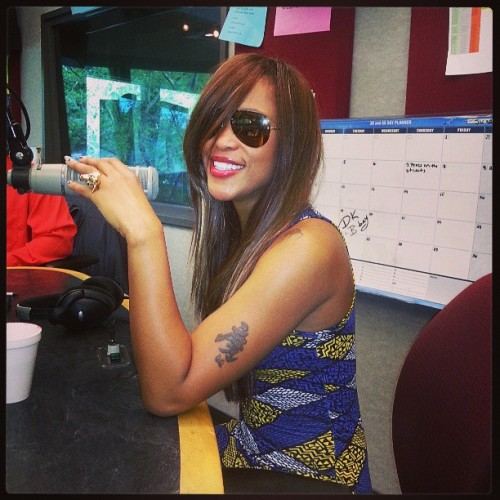 Me girl eve is here!!! @therealeve @power99philly
