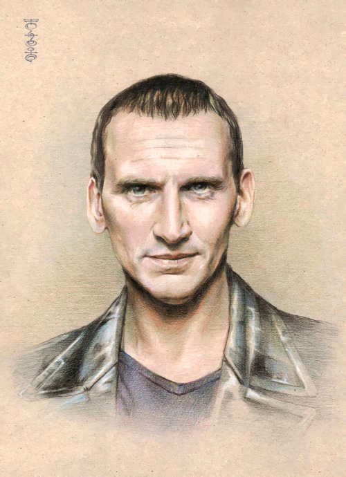 lei-feiyang:  Doctor Who - Fan Art Eccleston