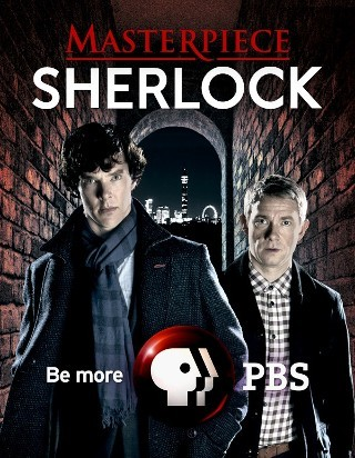 "I am watching Sherlock                   ""S1 ep2 (re-watch)""                                Check-in to               Sherlock on GetGlue.com"