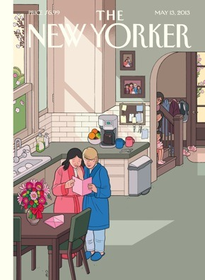 The New Yorker keeps ripping off my childhood. HAPPY MOTHERS' DAY!
