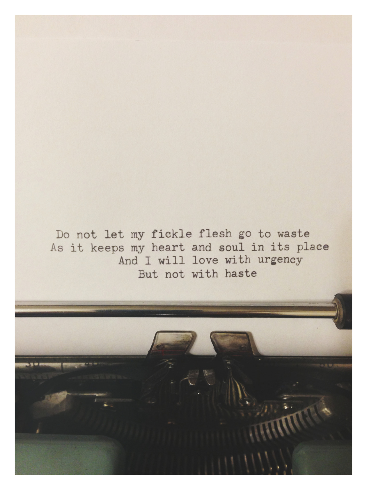 leslieknopeful:  rainydaysandblankets:  Mumford & Sons | Not With Haste  I like this.