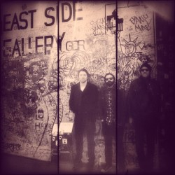 Germany…The Berlin Wall East Side Gallery. 3 more BRMC shows left…Berlin tonight!  (at Michelberger Hotel)